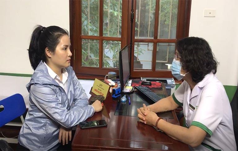 Chị Thúy Hồng khỏi mề đay sau 2 tháng điều trị tại TT Thuốc dân tộc