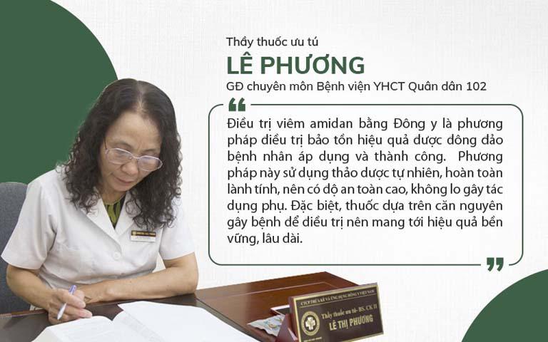 Thầy thuốc ưu tú Lê Phương chia sẻ giải pháp chữa viêm amidan