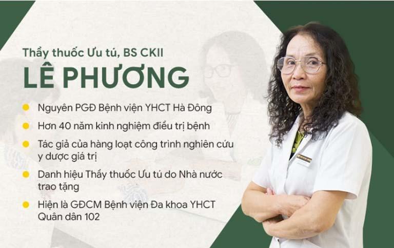 Thầy thuốc ưu tú Lê Phương