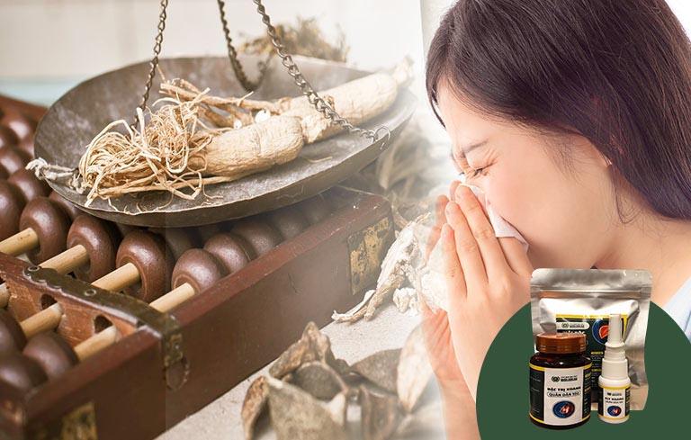 Nhờ sử dụng liệu trình thảo dược của bệnh viện Quân dân 102, Ngọc đã thoát khỏi căn bệnh viêm mũi dị ứng