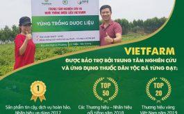 Trung tâm Nghiên cứu và Nuôi trồng dược liệu Vietfarm: Tiên phong trong công tác nuôi trồng và phát triển dược liệu sạch
