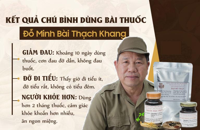 HIệu quả bài thuốc nam Đỗ Minh Đường