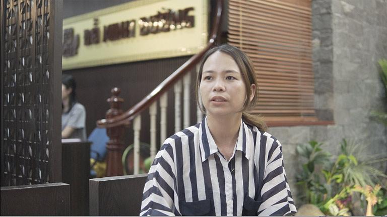 Chị Sâm điều trị thận hư tại nhà thuốc nam Đỗ Minh Đường