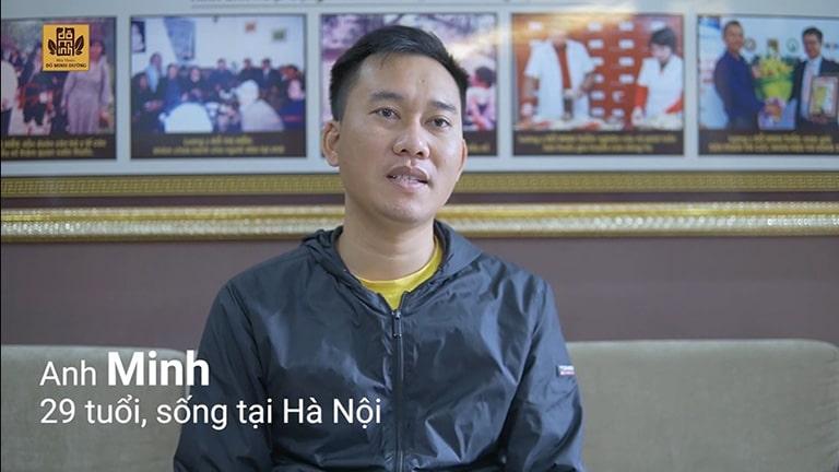 Anh Minh - Bệnh nhân chữa yếu sinh lý tại Đỗ Minh Đường