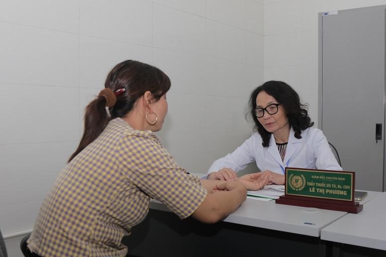 Bác sĩ Phương luôn nhận được sự yêu mến, tin tưởng của người bệnh