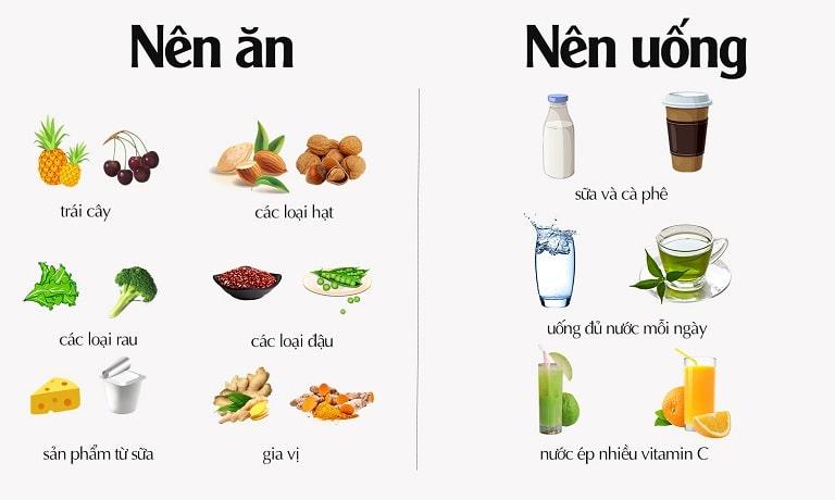 Bị gout nên ăn gì, kiêng gì?