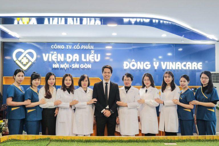 Viện Da liễu Hà Nôi Sài Gòn chính thức ra đời thay cho tên cũ là Trung tâm Da liễu Đông y Việt Nam