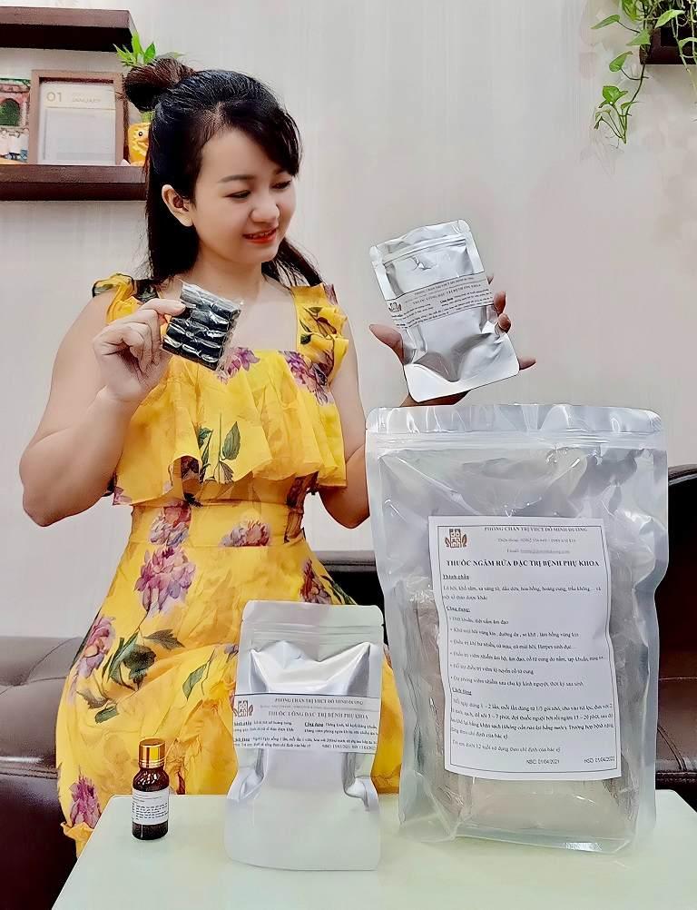 Hot mom Thu Hương tin tưởng sử dụng bài thuốc Phụ Khang Đỗ Minh