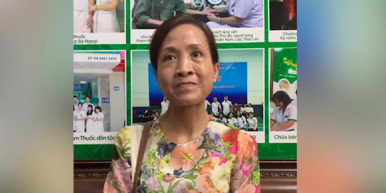 Cô Lưu Kim Vân, Đền Lừ, Hoàng Mai, Hà Nội