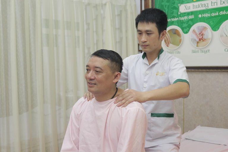 NS Chiến Thắng chấm dứt bệnh đại tràng sau khi kết thúc liệu trình tại Đông phương Y pháp