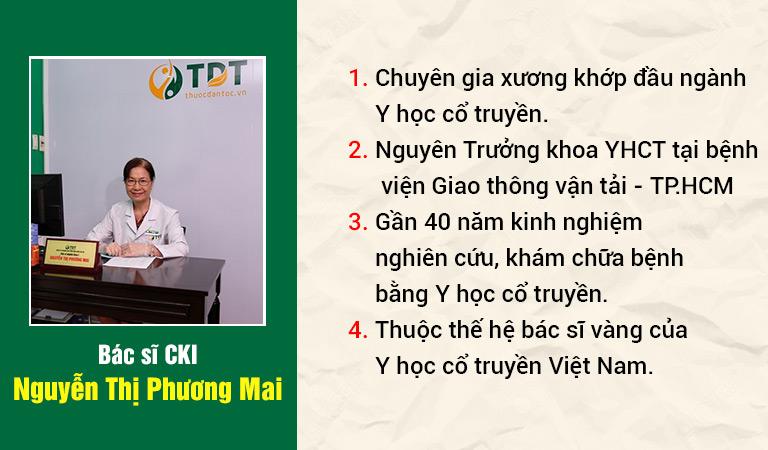 Bác sĩ chuyên khoa I Nguyễn Thị Phương Mai