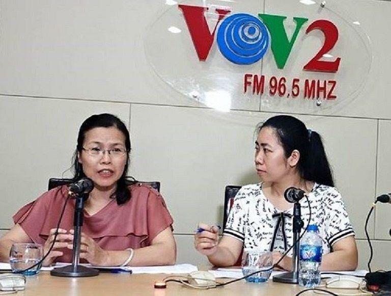 Bác sĩ Vân Anh nhận nhiều lời mời chia sẻ kiến thức sức khỏe trên VOV