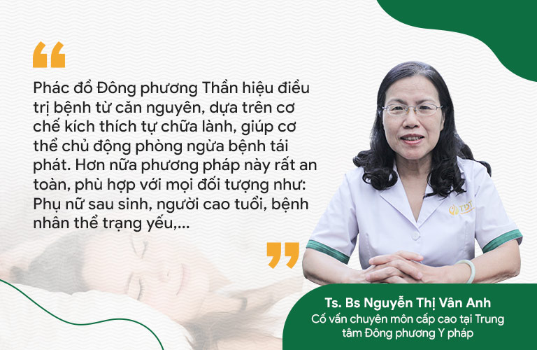 Bác sĩ Vân Anh nhận xét về liệu trình điều trị bệnh thần kinh