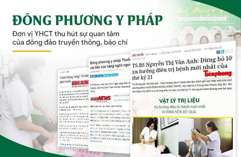 Đông phương Y pháp được truyền thông, báo chí quan tâm