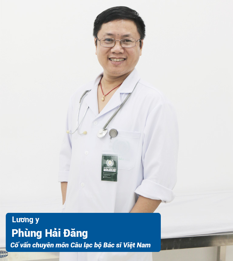 Lương y Phùng Hải Đăng - Cố vấn chuyên môn tại Câu lạc bộ Bác sĩ Việt Nam (DrBacsi)