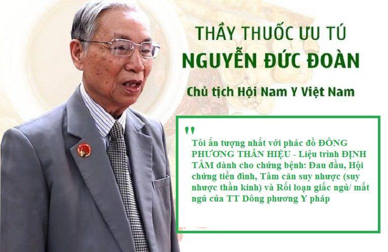Nhận xét của thầy thuốc ưu tú Nguyễn Đức Đoàn về Đông phương Thần hiệu