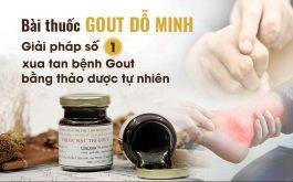 Bài thuốc Gout Đỗ Minh giúp hàng ngàn người thoát khỏi sưng viêm khớp, khôi phục khả năng vận động