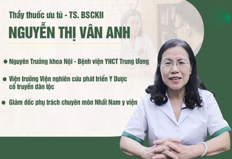Chân dung TS Vân Anh