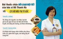 Công dụng bài thuốc đặc trị rối loạn nội tiết của bác sĩ Đỗ Thanh Hà
