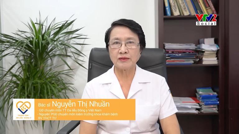 Bác sĩ Nguyễn Thị Nhuần đánh giá cao công dụng giải pháp hỗ trợ điều trị rụng tóc của Viện Da liễu Hà Nội - Sài Gòn