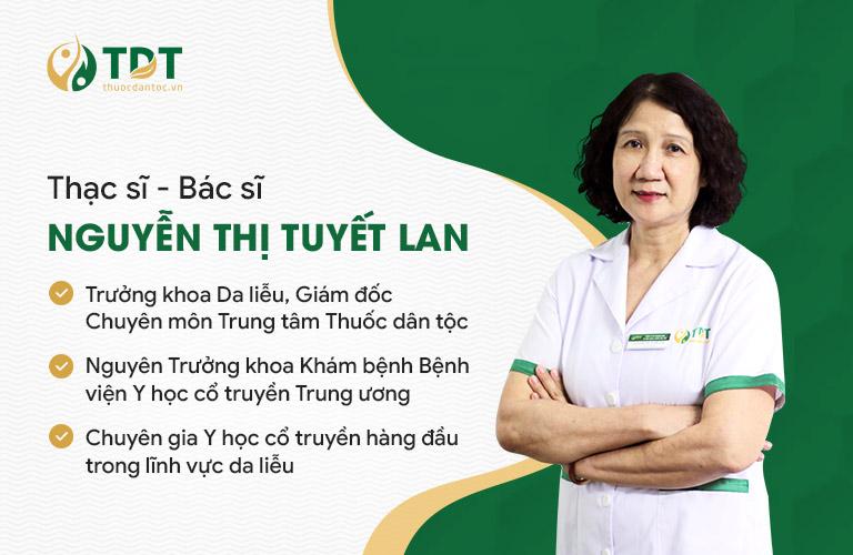 Bác sĩ Tuyết Lan đứng đầu ban chuyên đề nghiên cứu bài thuốc