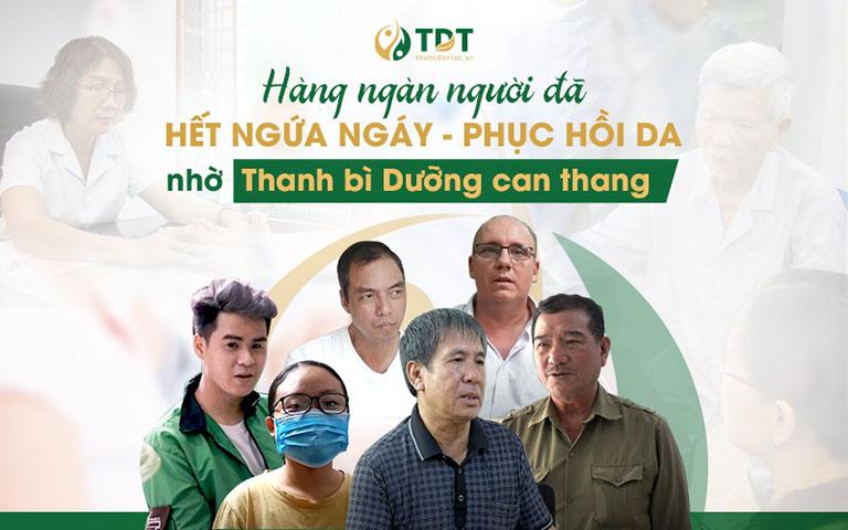 Hàng ngàn bệnh nhân đã khỏi viêm da nhờ Thanh bì Dưỡng can thang