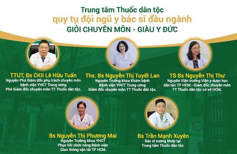 Trung tâm Thuốc dân tộc là nơi quy tụ đội ngũ y bác sĩ giàu kinh nghiệm