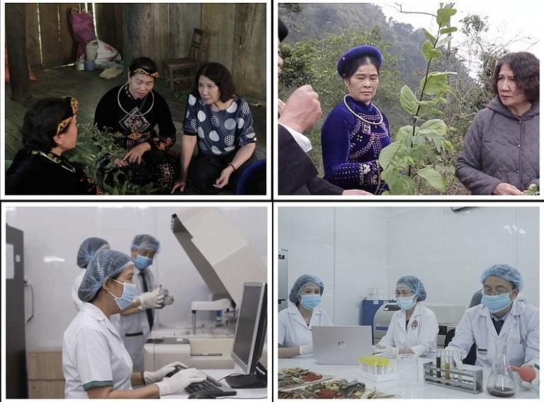 Đội ngũ nghiên cứu trong quá trình phát triển bài thuốc