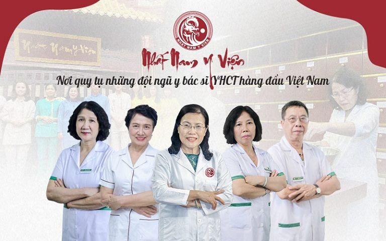 Đội ngũ y bác sĩ hàng đầu YHCT của Nhất Nam Y Viện