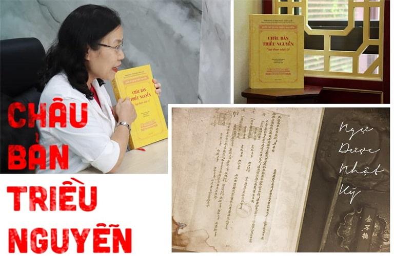 """Bác sĩ Vân Anh cùng cuốn """"Châu bản triều Nguyễn – Ngự dược nhật ký"""""""