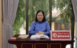 Tiến sĩ, Bác sĩ Nguyễn Thị Vân Anh đã dành nửa đời người để gắn bó với nền YHCT